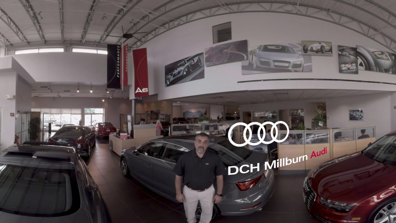 DCH Audi Of Millburn Showroom Injected YouTube - Dch audi