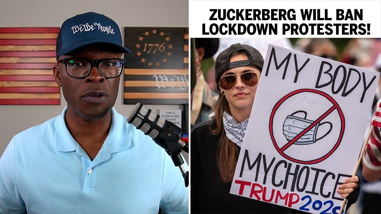 Zuckerberg Says Facebook Will BAN Lockdown Protesters!