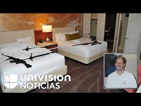 Salen a la luz nuevas fotos de la habitación desde donde Paddock cometió la masacre en Las Vegas