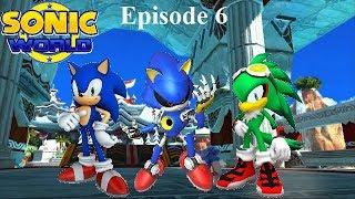 Vidéo détente sur Sonic World (R9) épisode 6: Sonic, Metal Sonic et Jet the Hawk à Ocean Palace