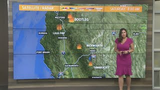 Northern California Wildfires: Weekend Outlook and Weather