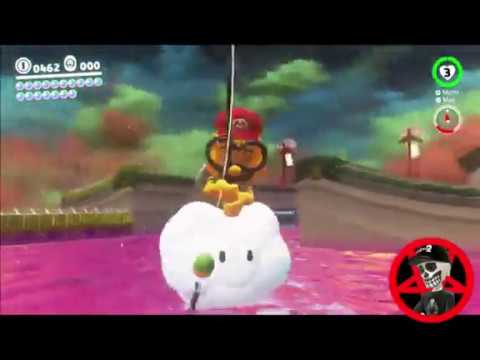Super Mario Odyssey Guide Bowser S Kingdom Power Moon 27 Youtube