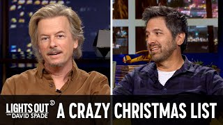 This Christmas Wish List Is Insane (feat. Ray Romano) - Lights Out with David Spade
