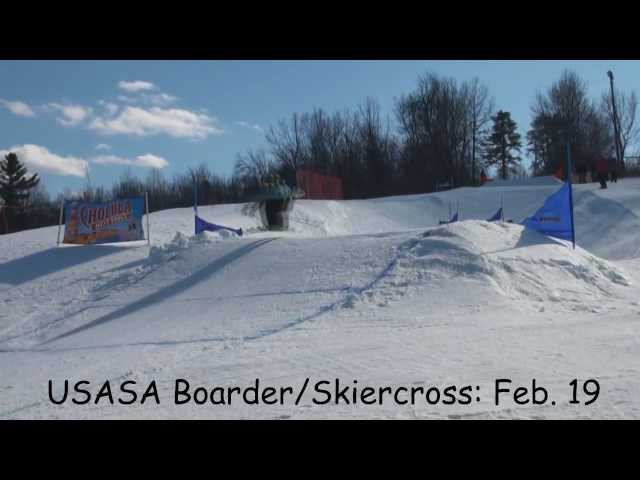 USASA Boarder/Skiercross at Ski Ward - Feb. 19, 2012