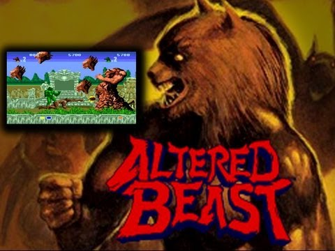 Altered Beast Arcade Co op Playthrough 2 Players Longplay