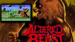 Game | Altered Beast Arcade Co op Playthrough 2 Players Longplay | Altered Beast Arcade Co op Playthrough 2 Players Longplay