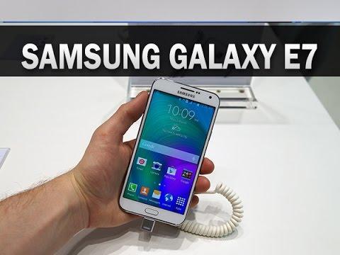 Samsung Galaxy E7, prise en main - par Test-Mobile.fr
