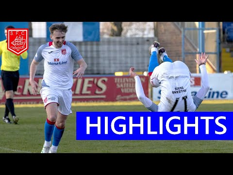 Stranraer Stenhousemuir Goals And Highlights