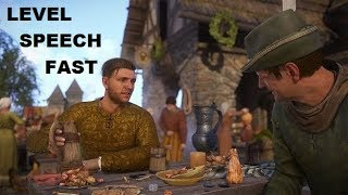 Kingdom Come: Deliverance - SPEECH LEVEL EXPLOIT | Level up Quick and Easy (*PATCHED*)