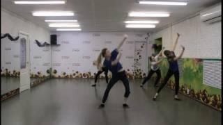 Фрагмент урока современного танца с Lemon  Школа танцев для детей  Ухта