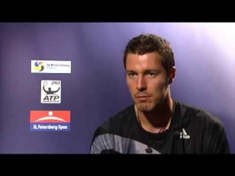 Marat Safin Post-Match Interview R1 Saint Petersburg Open 2009