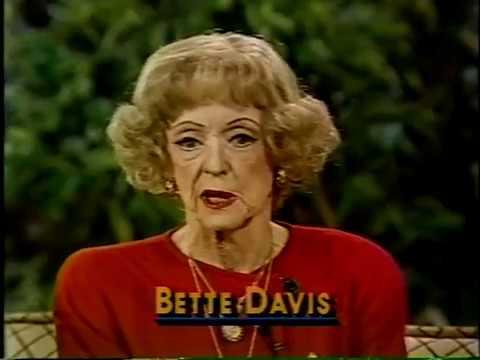 Bette Davis, David Hartman1985 TV