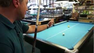 How to Line Up Your Shot in Billiards - Step 2 (of 6)