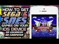 Provenance: How To Get SNES / SEGA Games on your iOS Device! (NO COMPUTER) (NO JAILBREAK)