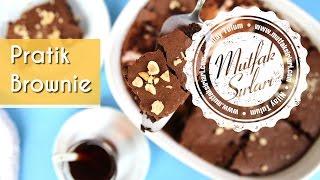 Pratik Brownie Tarifi - Mutfak Sırları