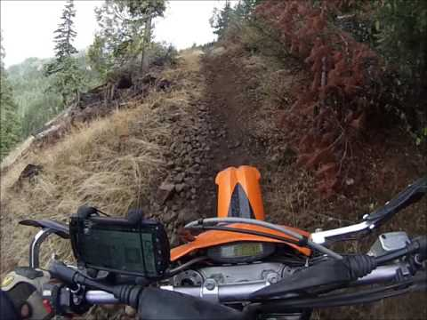 Ride report: The Golden Stair, Prospect OHV area, Prospect OR.