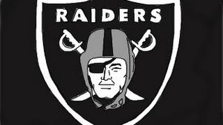 How to draw the Oakland Raiders, NFL team Logo