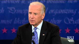 Vice Presidential Debate - Ryan and Biden Discuss Abortion and Faith