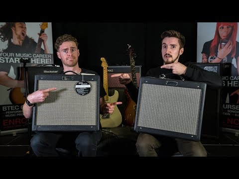 Fender Blues Junior III Vs IV - Comparison Demo