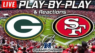 Packers vs 49ers | Live Play-By-Play & Reactions