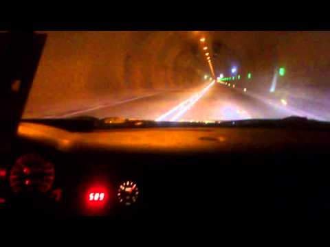 Audi RS2 500+ ps sound im tunnel