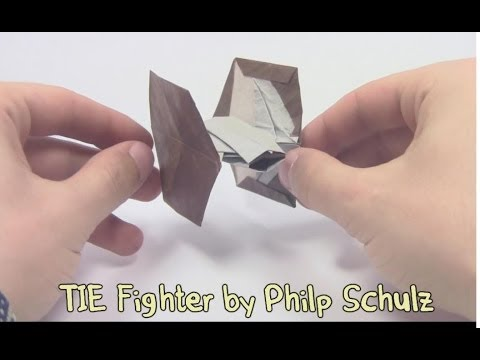 Star Wars Origami Tie Fighter By Philp Schulz Yakomoga Origami