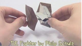 видео Tie Fighter из Звездных войн по схеме Anna Kastlunger