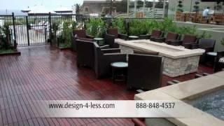 Wood Decking Tiles Patio Tile Patio Tiles Patio Deck Wood Decking Tile Deck Design For Less