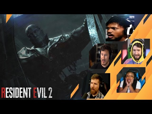 Gamers Reactions to William Birkin Destroying Mr.X | Resident Evil 2 Remake