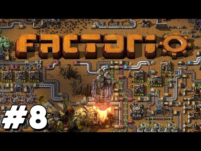 Factorio - Oil Success - E.8