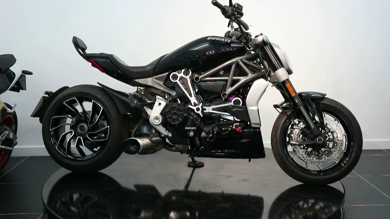 now sold - ducati xdiavel s ex demo for sale - £17,995 - d1822