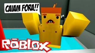 FUGINDO DO BANHEIRO! - Roblox
