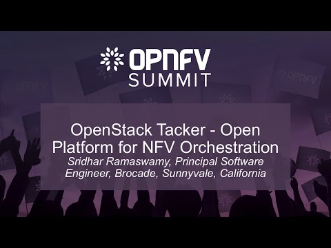 OpenStack Tacker - Open Platform for NFV Orchestration