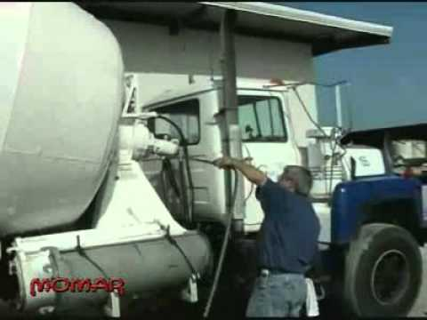 How to remove concrete easily from trucks and equipment with Momar's Bright-Crete™