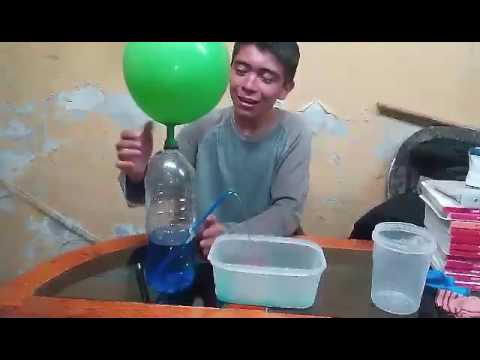 Hidrostatica experimento fuente casera youtube - Motor de fuente de agua ...
