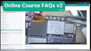 iPhone Logic Board Repair Online course 2021 【FAQs】 v2