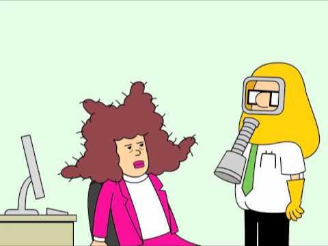 Dilbert: Sneezing Alice