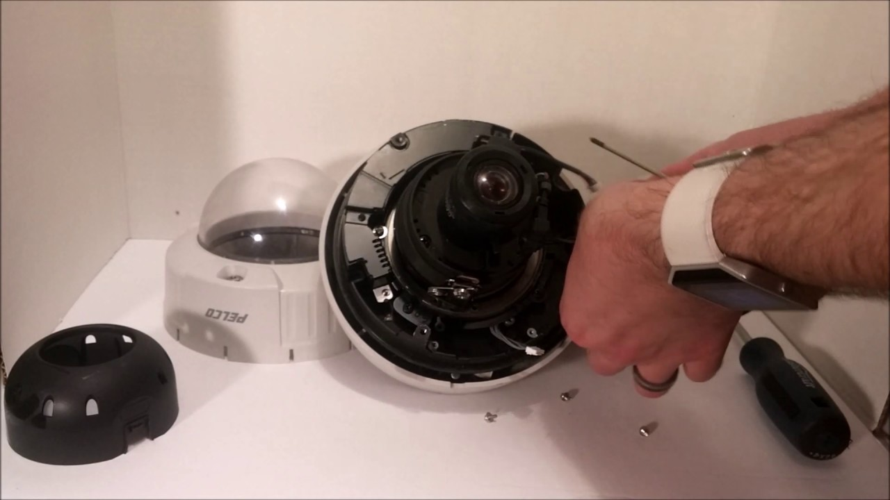 Pelco Ptz Security Camera Teardown