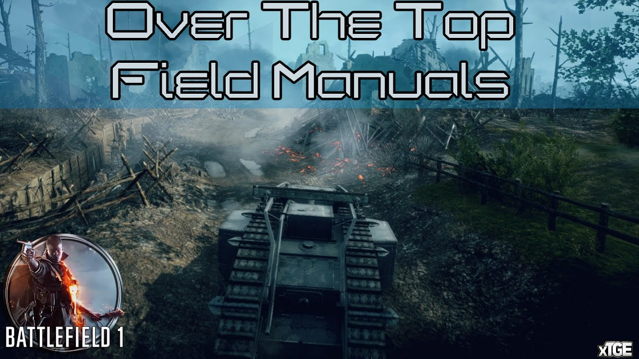 battlefield 1 all field manual locations in over the top rh youtube com Battlefield 3 End Game Guns in Battlefield 3 Game