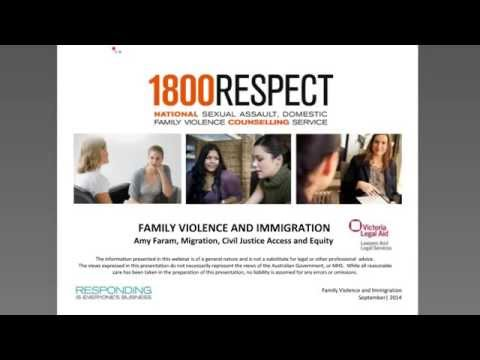 Family Violence & Immigration Law webinar