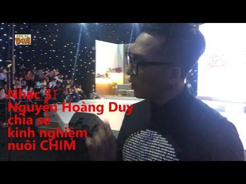Khúc Hát Se Duyên: Giám đốc âm Nhạc Nguyễn Hoàng Duy Chia Sẻ Kinh Ngiệm Nuôi.... CHIM
