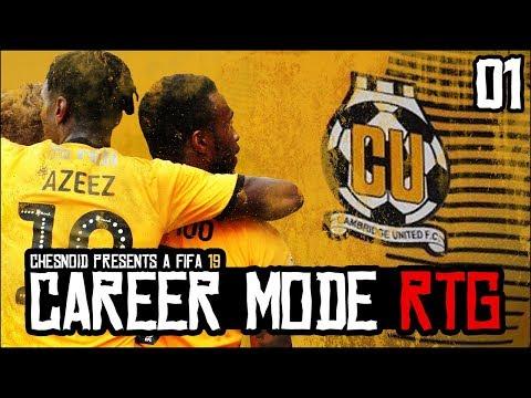 [NEW SERIES] FIFA 19 | Career Mode RTG Ep1 - MY FAVOURITE SERIES!! thumbnail