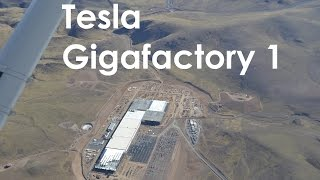 Tesla Gigafactory 1 Fly-Over (11/7/2016)