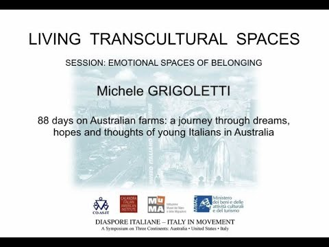 88 days on Australian farms: a journey through dreams, hopes and thoughts of young Italians in Austr