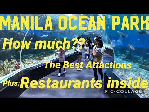 Manila Ocean Park | Entrance Package Rates | Restaurants Inside | Sea Lion Show And Others