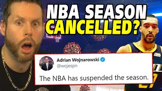 The NBA just CANCELLED the Season? ...WHAT?!