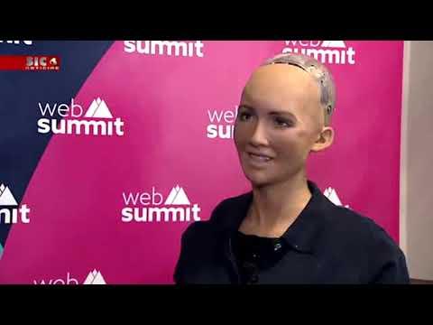 O Robot Sophia em Portugal