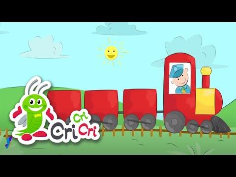 Cantec nou: Trenul - Cantece pentru copii | CriCriCri #cantecepentrucopii