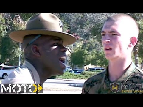 Marine Corps Drill Instructor: Recruit Getting ANNIHILATED ...