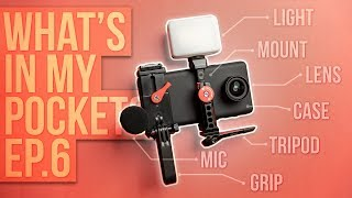 What's In My Pockets Ep. 6 - Mobile Creator EDC (Everyday Carry) - RhinoShield SolidSuit + Lens!